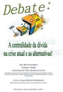 Convite para debate com Elmar Altvater  dia 09nov2012