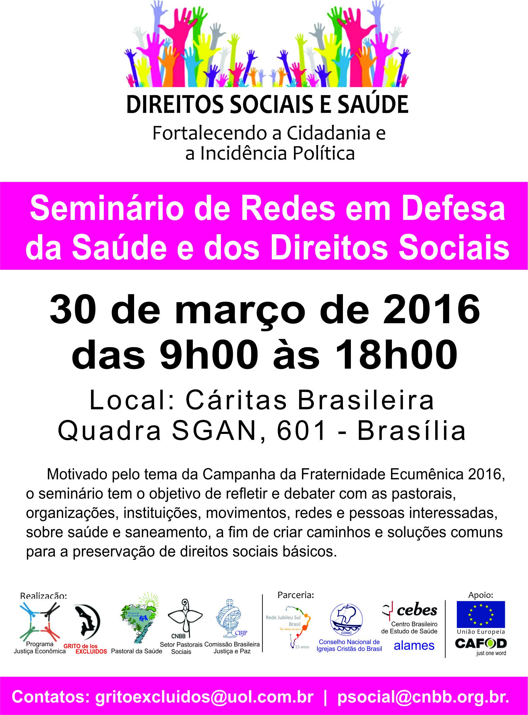 Seminário de Redes Brasilia1