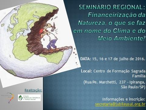 Imagem Seminário Regional SP 15 a 17 julho 2016