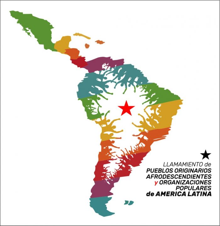 Convocação aos povos indígenas, tradicionais e quilombolas e organizações populares na América Latina