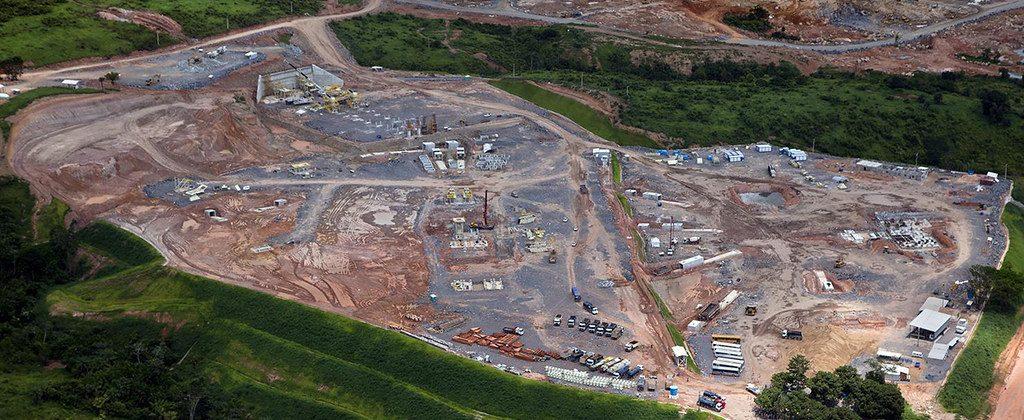 Canteiro de obras da Usina Hidreletrica de Belo Monte. Foto Marizilda Cruppe/EVE/Greenpeace