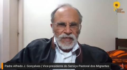 Padre Alfredo J. Gonçalves, vice-presidente do Serviço Pastoral dos Migrantes