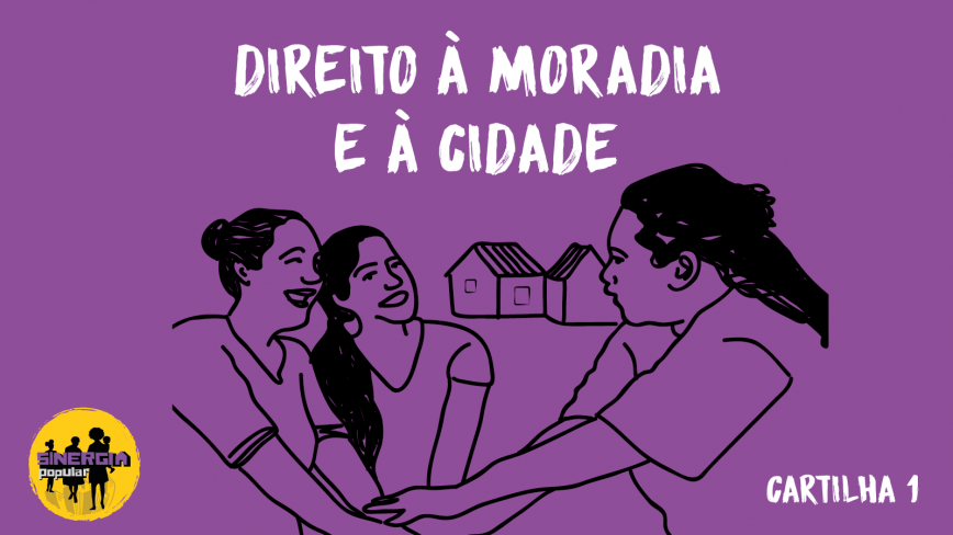 """Jubileu Sul Brasil lança cartilha """"Direito à moradia e à cidade"""""""